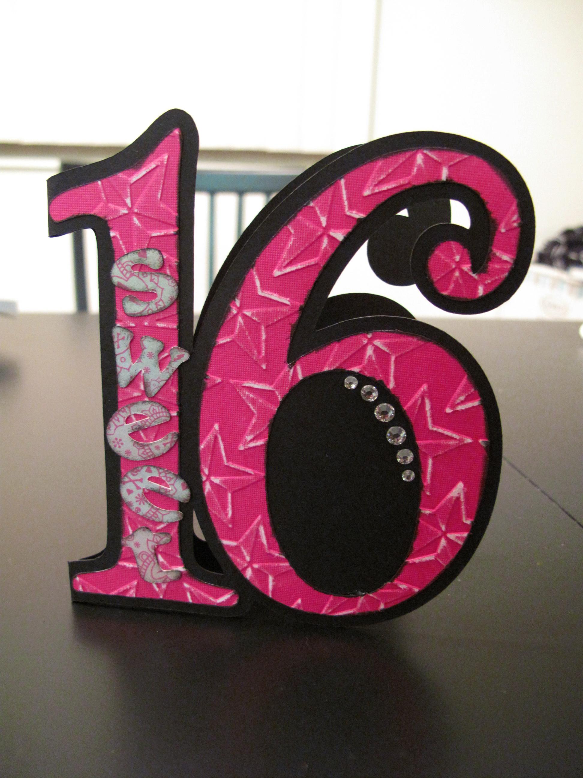 16Th Birthday Card Ideas gangcraftnet – Sweet 16 Birthday Card Ideas